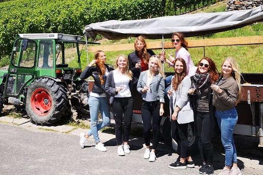 Planwagenfahrt Pfalz Junggesellenabschied